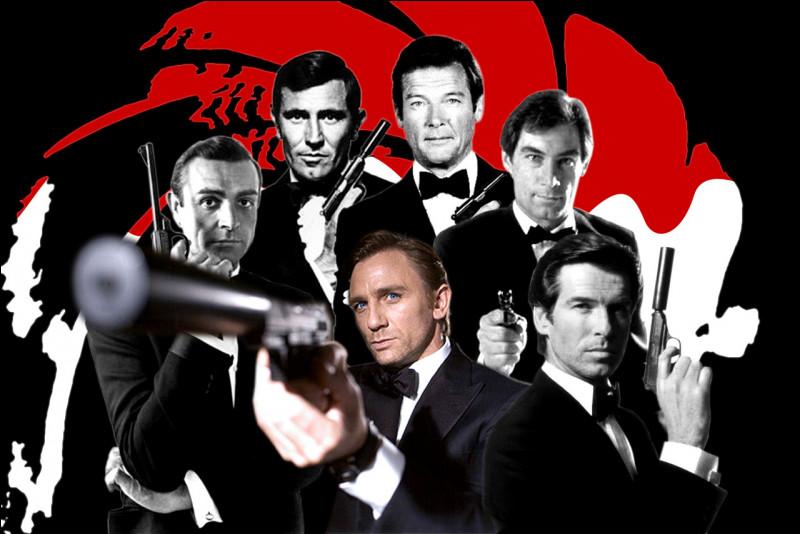 Qui n'a pas joué dans un film de James Bond ?