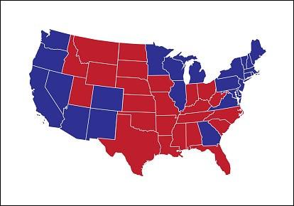 Avec combien de grands électeurs emporte-t-il l'élection présidentielle de 2020 ?