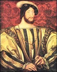 En quelle année François 1er devient-t-il roi de France ?