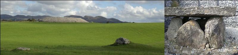 """Site comportant pas moins de 52 tombes, édifié vers - 3 550 : comme son nom - """"Lios an tSeagail"""" - est pour le néophyte complètement imprononçable, c'est que nous sommes donc bien au/en ..."""