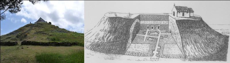 """Carnac > Le tumulus dit """"de Saint-Michel"""" a beau être là depuis - 4 500 avant J-.C. environ, les Catholiques ont persisté à construire des chapelles dessus depuis le VIe s. ! Résultat, ..."""