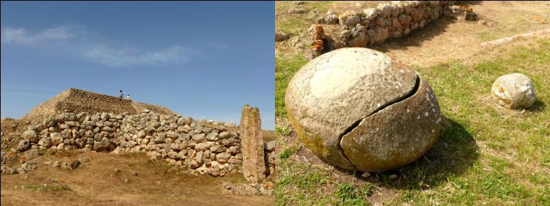 Entre - 4 300 et - 3 700 > Le mont d'Accoddi (Sardaigne) recèle des trésors de la culture d'Ozieri, notamment d'énormes pierres cylindriques : à quoi ont-elles servies ?