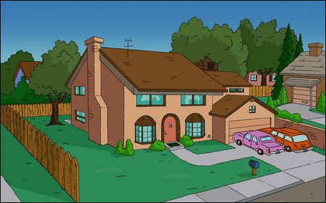 Quelle est la principale adresse du foyer de la famille Simpson donnée dans la majorité des épisodes ?