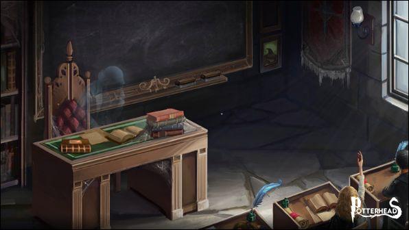 Comment se nomme le professeur fantôme ?