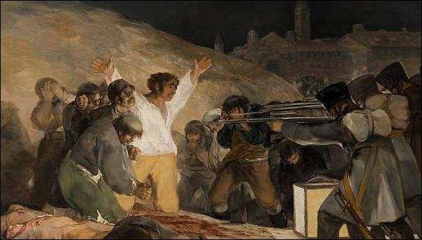 Vers 1814, Goya réalise un tableau dénonçant les crimes de l'armée française en Espagne. Quel est son nom ?