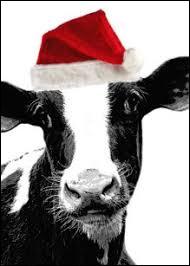 """De quelle couleur est la tête de la vache sur le logo de """"La vache qui rit"""" ?"""