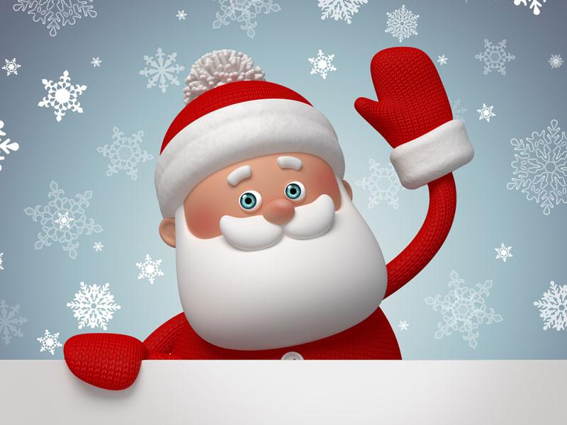 Cherchez l'intrus : spécial père Noël