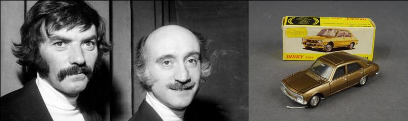 Énigme, mystère...> Quel pourrait-être le rapport entre le monsieur de gauche et la 504 bronze de droite ?