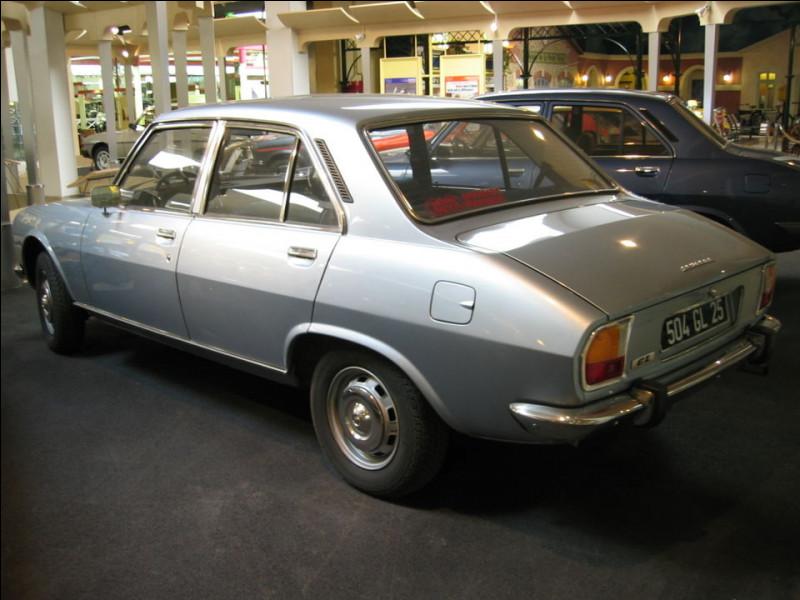 Toujours est-il que la 504 fut le premier modèle à propulsion ...