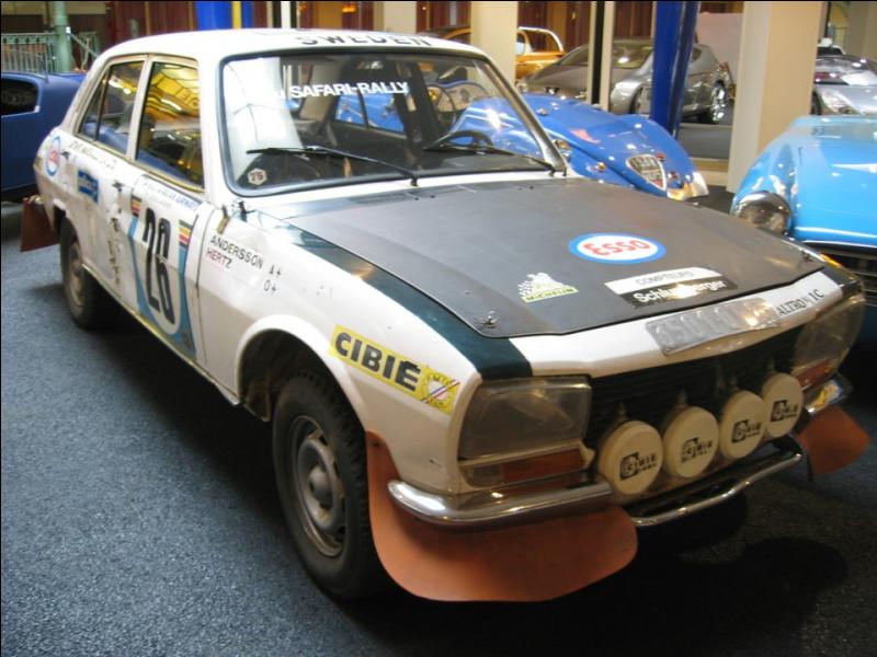 Question rallyes, la 504 Ti s'est adjugé ... Paris / Dakar !