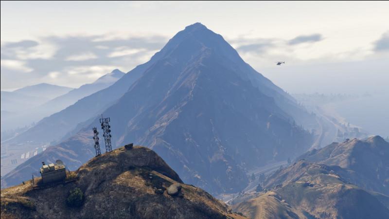 Laquelle de ces montagnes n'est pas dans le jeu ?
