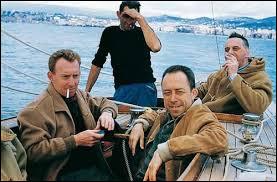 Quel écrivain est décédé dans un accident de voiture avec Michel Gallimard ?