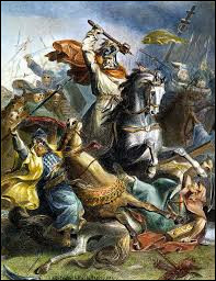 De qui Charles Martel était-il le grand-père ?