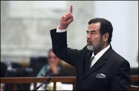 De quel pays Saddam Hussein était-il un homme d'état ?