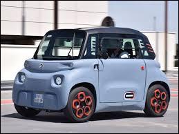 Quel est le nom de cette micro-citadine 100% électrique sans permis de la marque Citroën ?