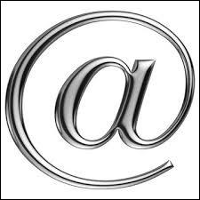 Comment s'appelle ce caractère typographique indispensable de l'adresse électronique ?