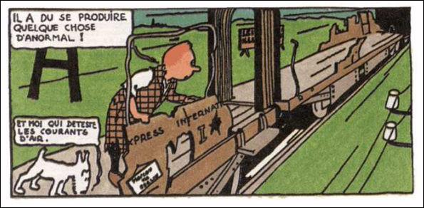 Juste une question comme ça, au débullé : qu'a donc cette case, dessinée par Hergé lui-même, de si particulier ?