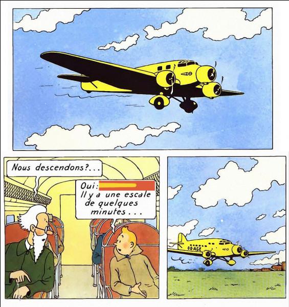 """Un peu de géo > Partant de Belgique, Tintin et le """"faux"""" professeur Halambique s'envolent vers la Syldavie : où feront-ils escale, logiquement ?"""