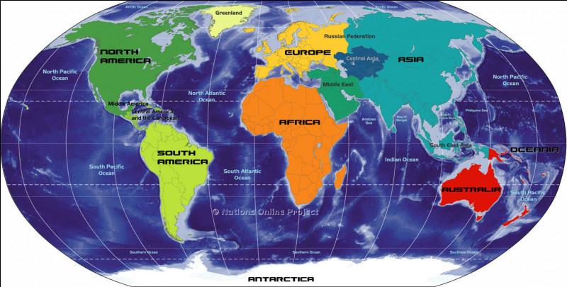 Sur quel continent se situe la France ?