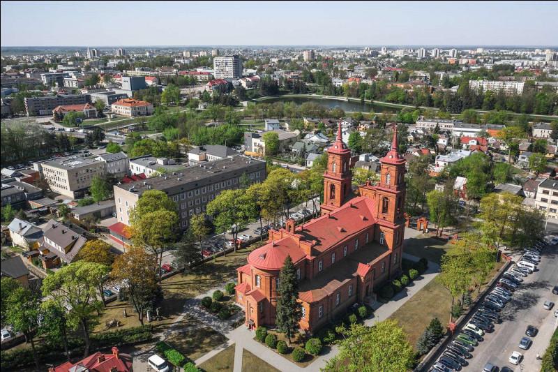Dans quel pays se trouve Panevėzys, ville de 95 000 habitants ?