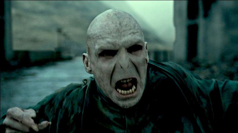 Pourquoi Voldemort n'a-t-il pas de nez ?