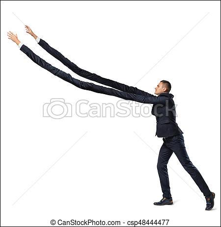 """Si un jour je vous dis """"Dis donc, vous avez le bras long"""", cela veut dire.."""