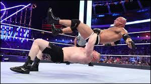 À qui Brock Lesnar a t-il fait le plus de suplex en un match ?