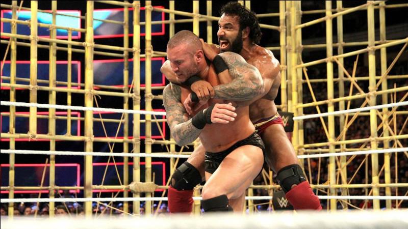 Qui a fait une intervention pendant le Punjabi Prison match qui opposait Jinder Mahal à Randy Orton ?