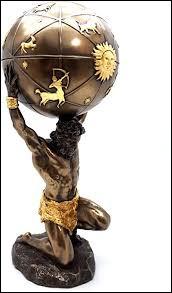Comment s'appelle le Titan contraint par Zeus de porter le ciel sur ses épaules ?