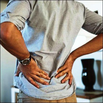 Quel problème de santé est familièrement appelé un tour de reins ?