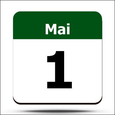 Quelle fleur est-il de coutume de s'offrir le 1er mai ?