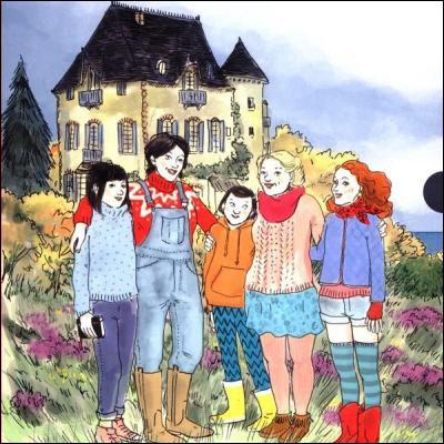 Dans une série de romans jeunesse de Malika Ferdjoukh, quel lien unit les quatre héroïnes Enid, Hortense, Bettina et Geneviève ?