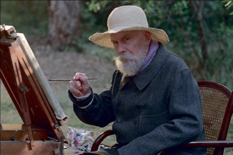Cette photo est extraite d'un film mettant en scène un peintre célèbre. Lequel ?