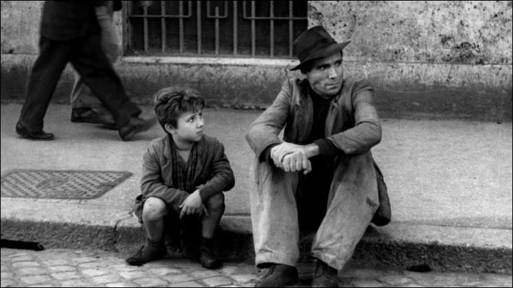 De quel film italien de Vittorio De Sica est extraite cette photo ?