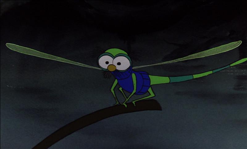 """Dans """"Bernard et Bianca"""", comment s'appelle la libellule ?"""