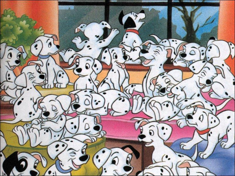 Combien de chiots vont adopter Pongo et Perdita ?