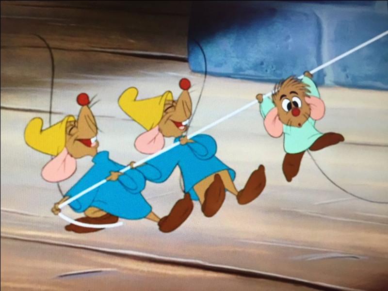 Comment s'appellent les souris jumelles de Cendrillon ?