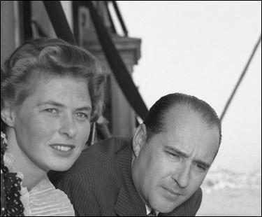 En 1948, Ingrid Bergman écrit à ce cinéaste italien pour travailler avec lui : ils entament une liaison, se marient en 1950, avant de se séparer en 1957 : de qui s'agit -il ?
