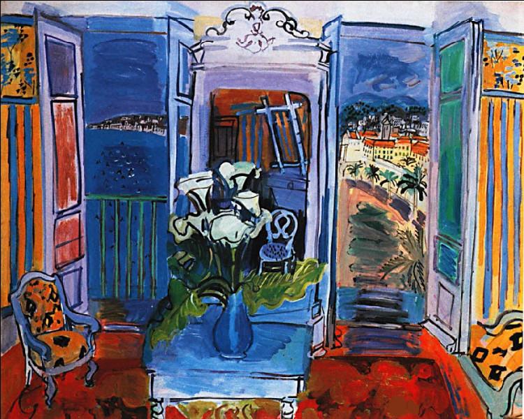 """Est-ce Matisse qui a peint """"Intérieur à la fenêtre ouverte"""" ?"""