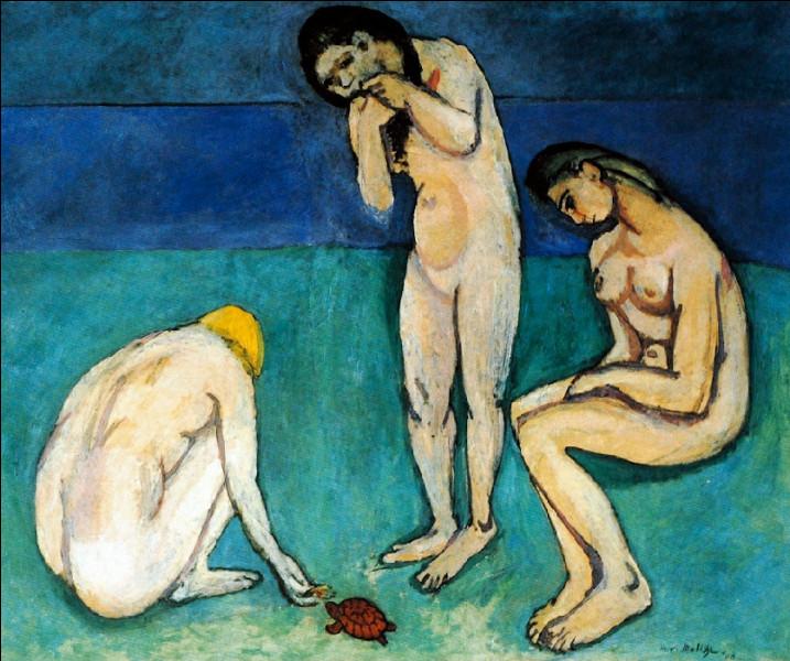"""Est-ce Matisse qui a peint """"Baigneuses à la tortue ?"""