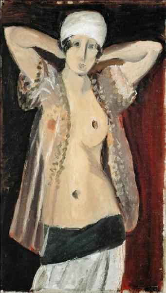 """Est-ce Matisse qui a représenté cette """"Odalisque debout"""" ?"""