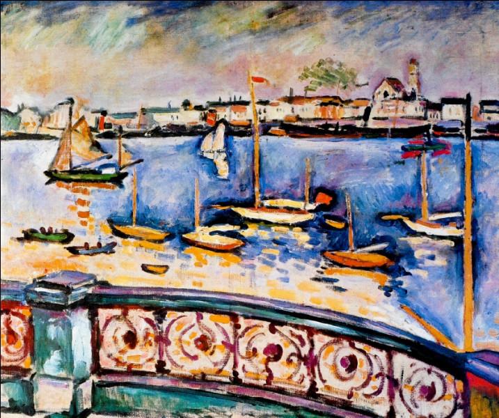 """Est-ce Matisse qui a représenté """"Le Pont d'Anvers"""" ?"""