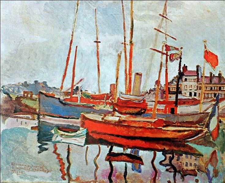 """Est-ce Dufy qui a peint """"'Le Port du Havre"""" ?"""