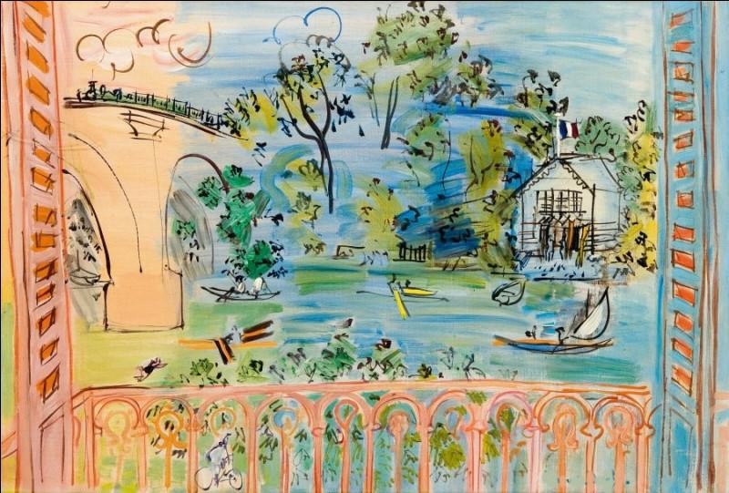 """Est-ce Dufy qui a peint """"Le Balcon sur la Marne"""" ?"""