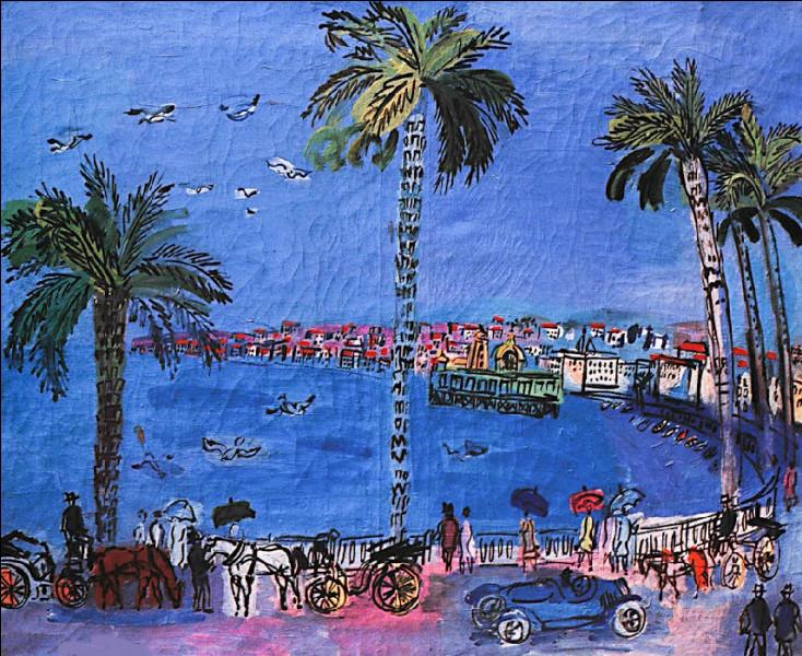 """Est-ce Raoul Dufy qui a peint """"La Promenade des Anglais aux mouettes"""" ?"""