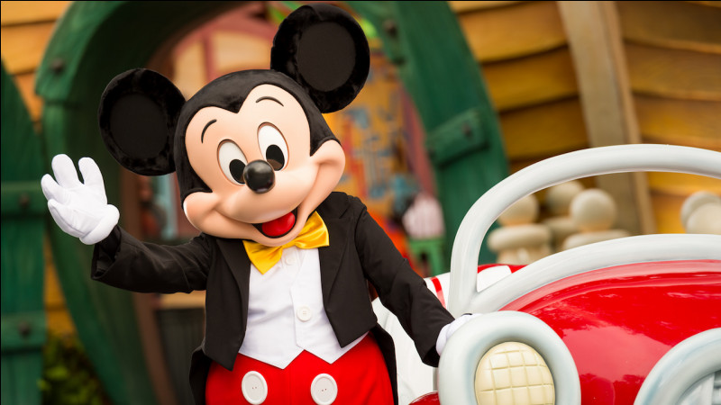 Mickey Mouse s'est toujours appelé Mickey Mouse :