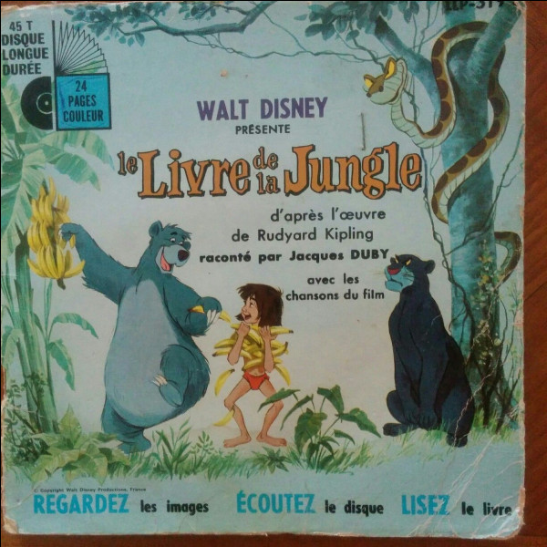 Les vautours dans ''Le Livre de la jungle'', ont le look inspiré des Beatles ?