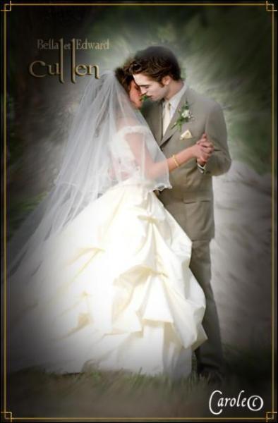 Qui sont les mariés sur cette photo ?