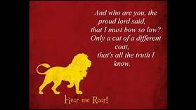 « Les pluies de Castamere » est une célèbre ballade Lannister qui raconte le sort que Tywin Lannister a fait subir à quelle maison ?