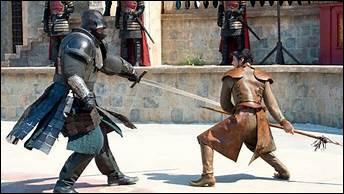 Lors de l'ordalie par combat entre la Montagne et le Prince Oberyn, pour quel crime Tyrion Lannister est-il jugé ?